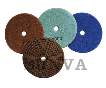 Resin Bonded Soft Polishing Pads